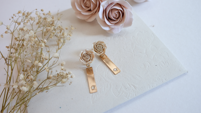 Bridemaid Earrings by Rahel W Signature - 005