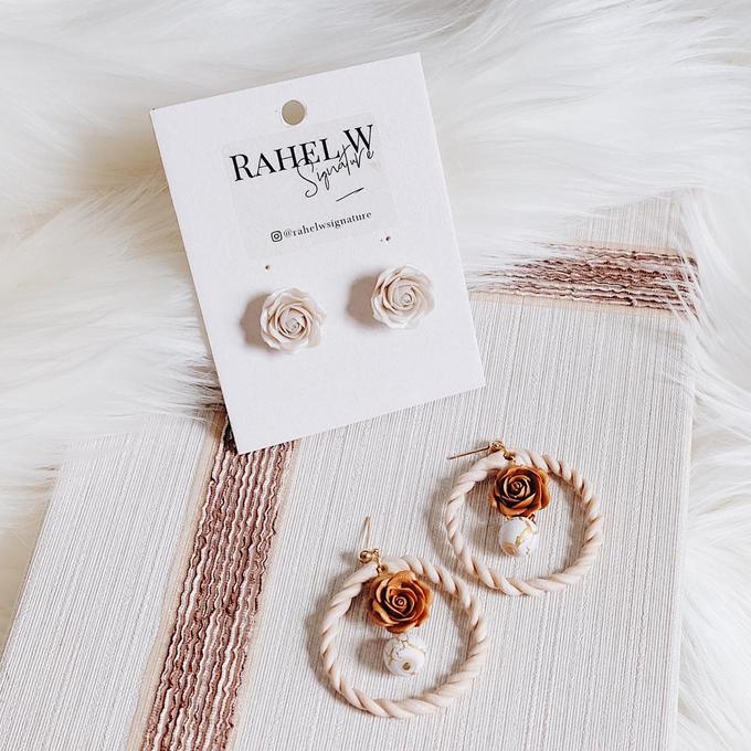 Bridemaid Earrings by Rahel W Signature - 006