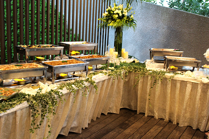 Tropical Rainforest Reception by Manna Pot Catering - 001