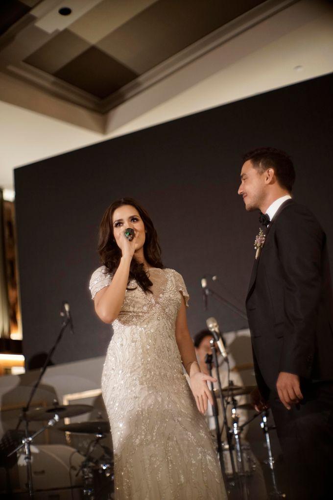 LED Screen - Raisa & Hamish Wedding by Chroma Project - 005