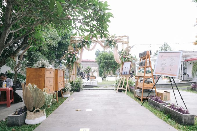 Harald Arkan & Prily Wedding Day by Cassia Decoration - 016