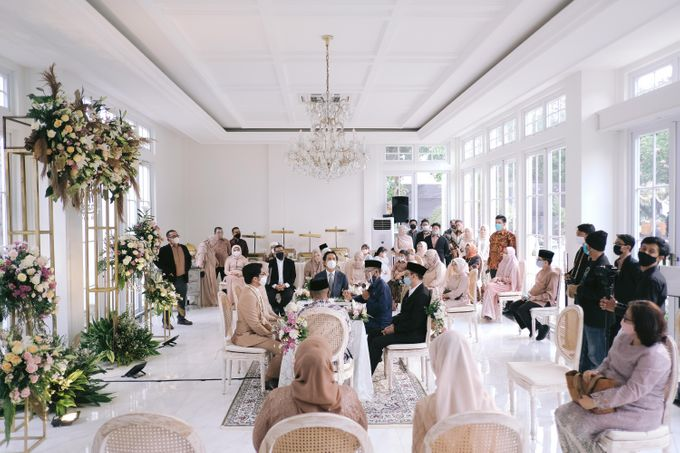Harald Arkan & Prily Wedding Day by Cassia Decoration - 022