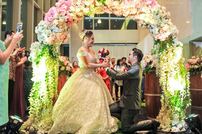 Wedding of Rully & Anita by La'SEINE Function Hall - 002