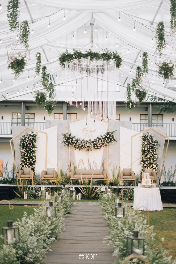 The Wedding of Randy & Rulin by Elior Design - 019