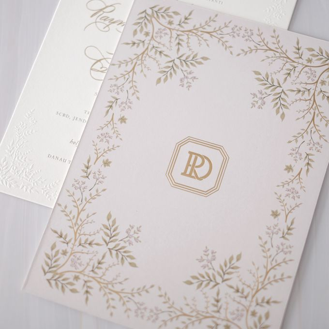DAZZLING VIOLET by BloomingDays Invitation Studio - 002