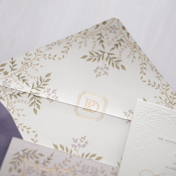 DAZZLING VIOLET by BloomingDays Invitation Studio - 003