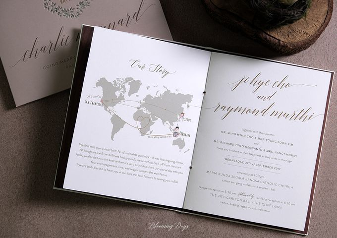 A LOVE STORY by BloomingDays Invitation Studio - 003