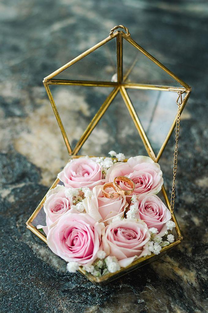 Elegant Rose Gold & Blush by Bali Izatta Wedding Planner & Wedding Florist Decorator - 001