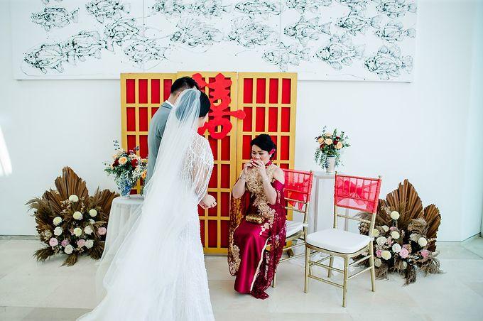 Elegant Rose Gold & Blush by Bali Izatta Wedding Planner & Wedding Florist Decorator - 008