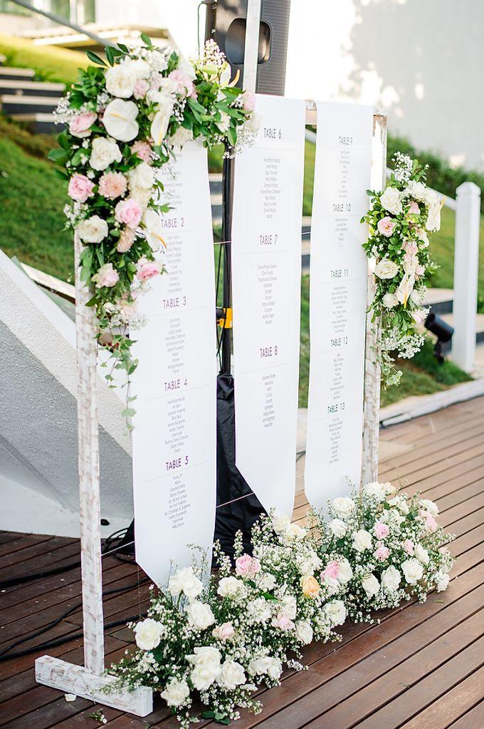 Elegant Rose Gold & Blush by Bali Izatta Wedding Planner & Wedding Florist Decorator - 006