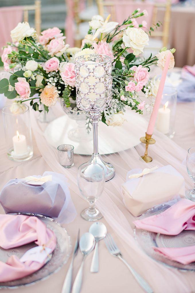 Elegant Rose Gold & Blush by Bali Izatta Wedding Planner & Wedding Florist Decorator - 014