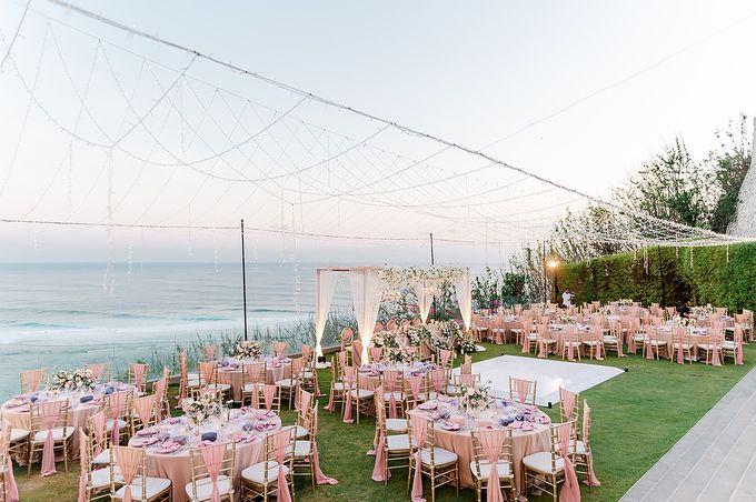Elegant Rose Gold & Blush by Bali Izatta Wedding Planner & Wedding Florist Decorator - 011