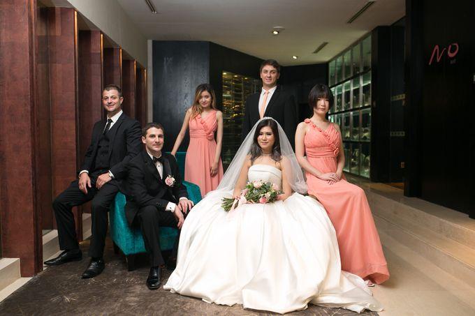 Wedding Of Bianca & Stavros by Mandarin Oriental, Jakarta - 009
