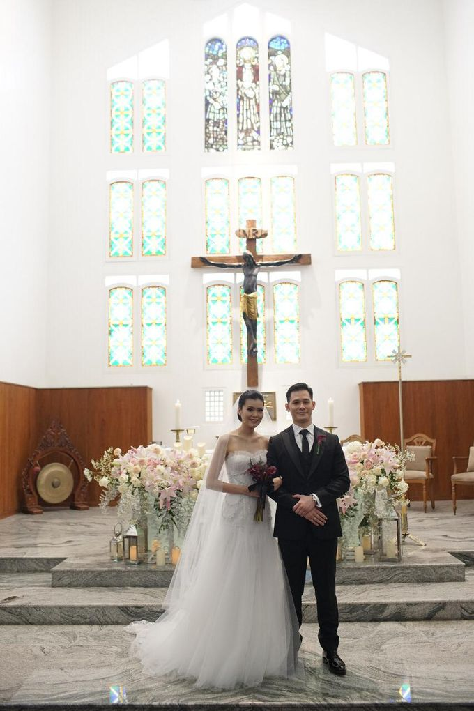 The Wedding Andrew & Caroline by Priscilla Myrna - 011