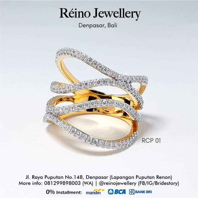 Engagement Ring - Cincin Perempuan by Reino Jewellery - 005