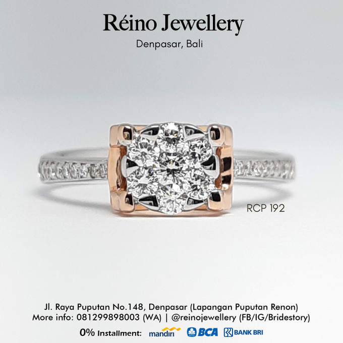 Engagement Ring - Cincin Perempuan by Reino Jewellery - 010