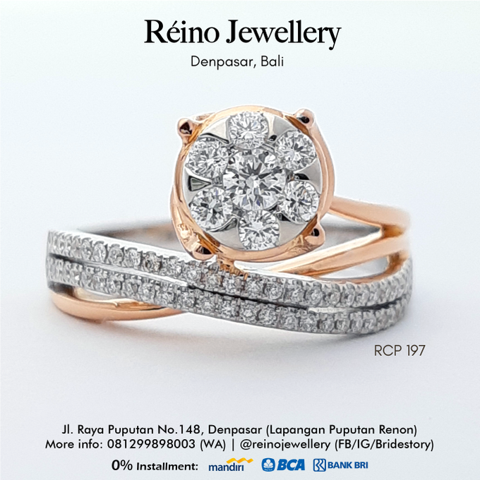 Engagement Ring - Cincin Perempuan by Reino Jewellery - 011