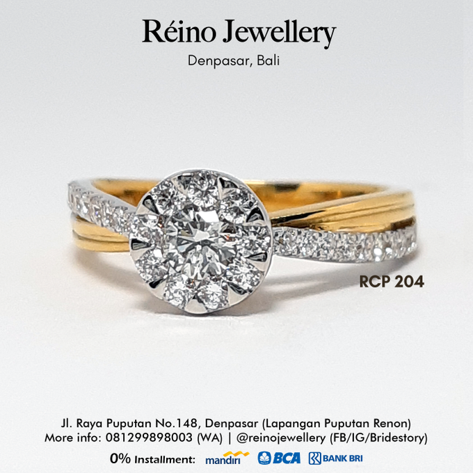 Engagement Ring - Cincin Perempuan by Reino Jewellery - 013
