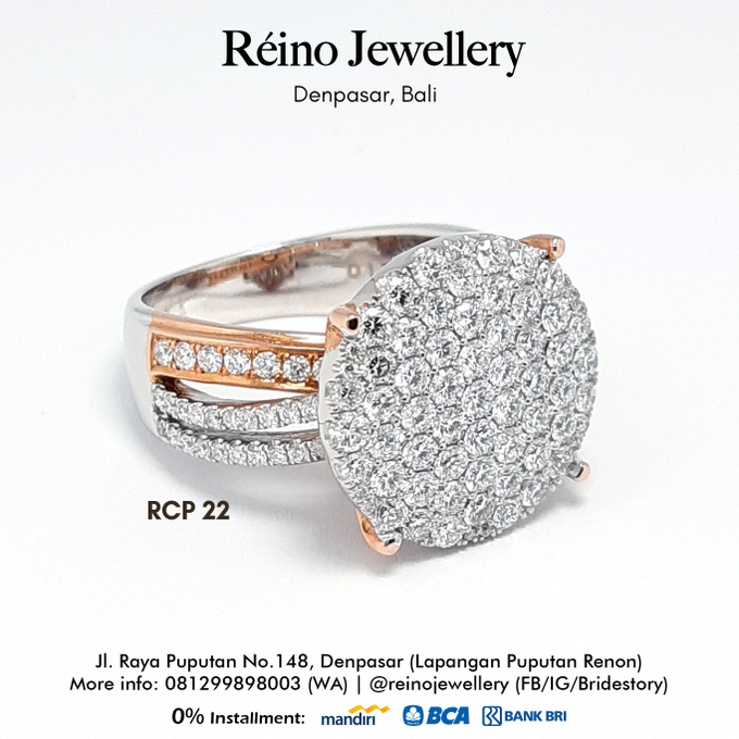 Engagement Ring - Cincin Perempuan by Reino Jewellery - 006
