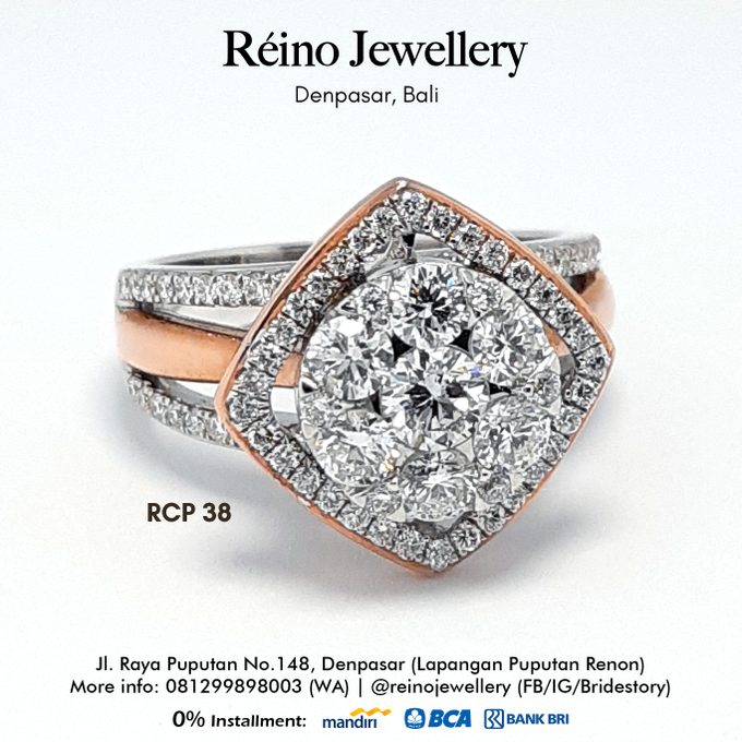 Engagement Ring - Cincin Perempuan by Reino Jewellery - 007
