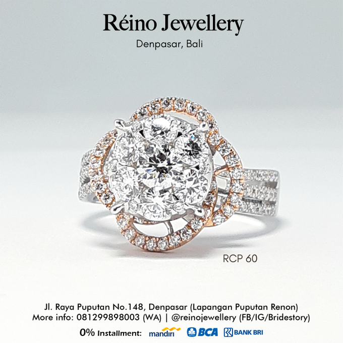 Engagement Ring - Cincin Perempuan by Reino Jewellery - 008