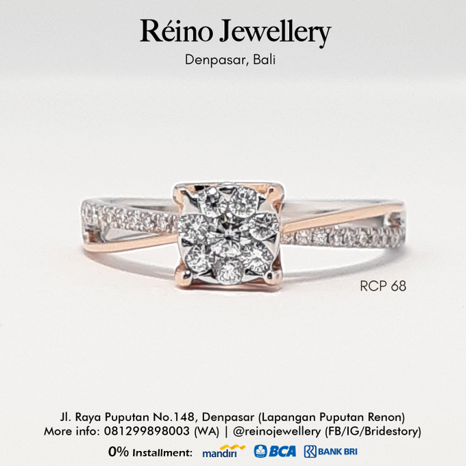 Engagement Ring - Cincin Perempuan by Reino Jewellery - 009