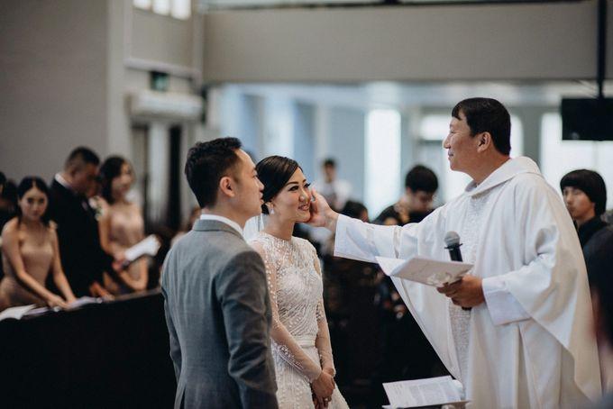 The Wedding of Ryan & Cynthia by Bubah Alfian Make Up Artist - 002