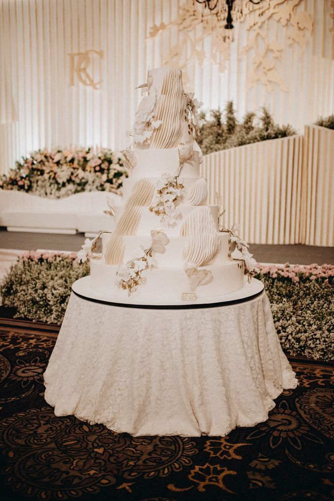 The Wedding of Ryan & Cynthia by Ivoire Cake Design - 001