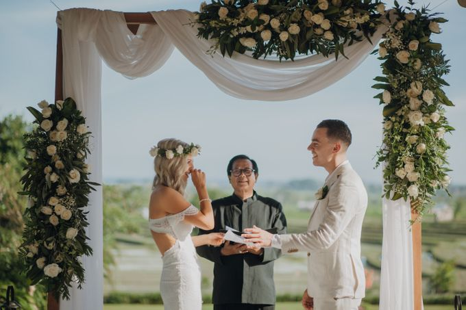 Wedding of Rebecca & Augustine by Lily Wedding Services - 006