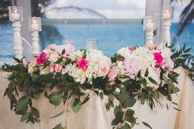 Romantic destination wedding on the beach by Tamara Maz - 003