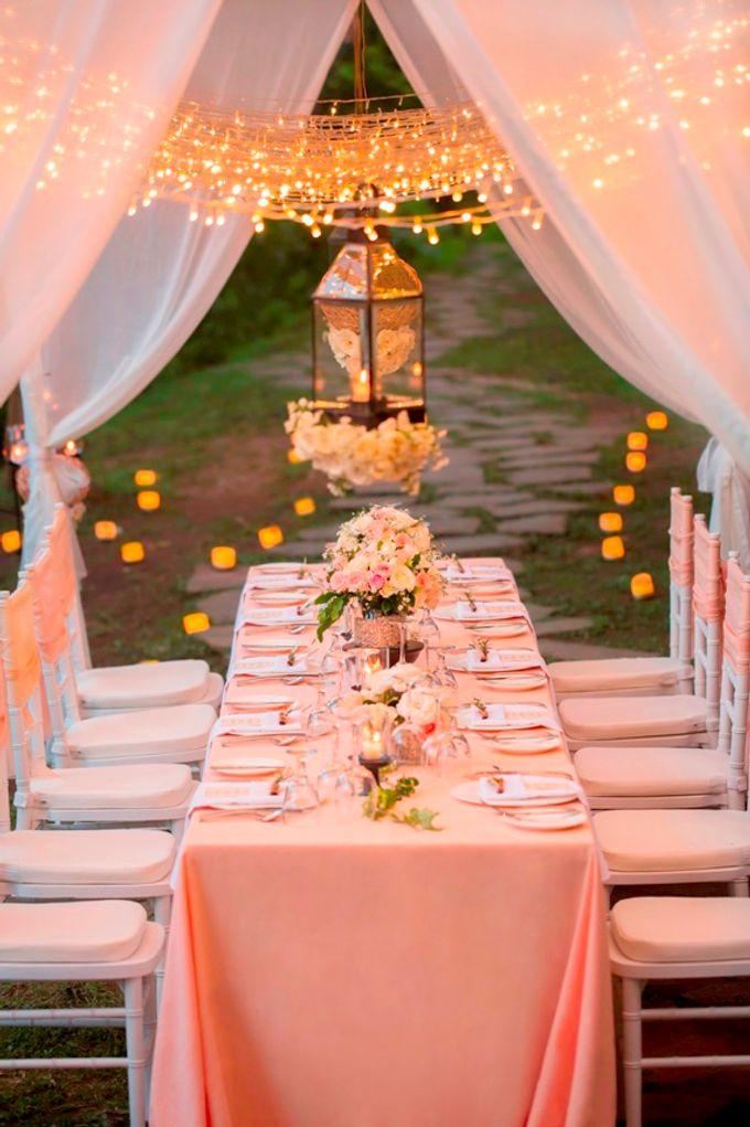 kayumanis ubud-dinner reception- pathway by Kayumanis Private Villa and Spa - 001