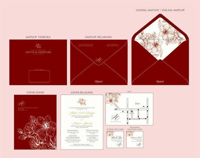 """Our New Design Template """" Promo II """" by Red Card - 004"""