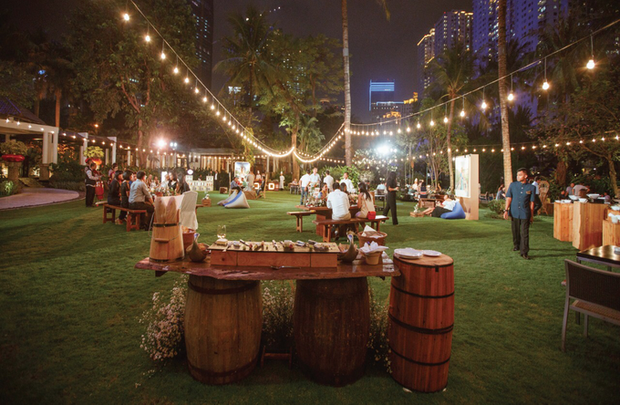 Garden Wedding Themed Party By Red White Moments Bridestory Com