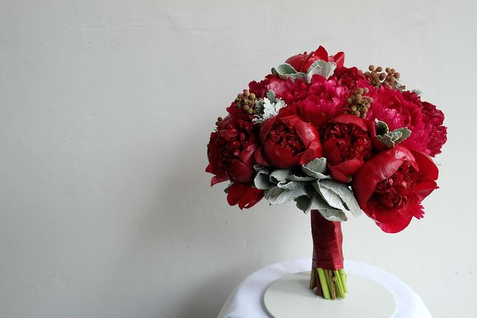 Round Bouquet Collection by Il Fiore - 017