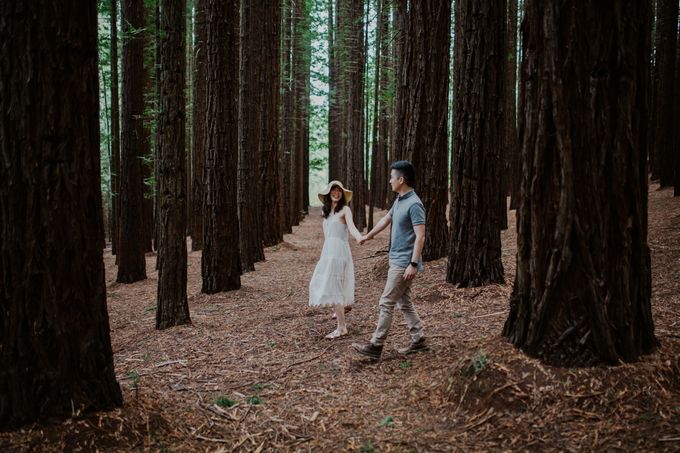 Marvelous Redwood Forest Wedding Anniversary in Warburton Melbourne Australia by fire, wood & earth - 011