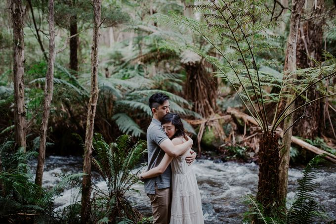 Marvelous Redwood Forest Wedding Anniversary in Warburton Melbourne Australia by fire, wood & earth - 014