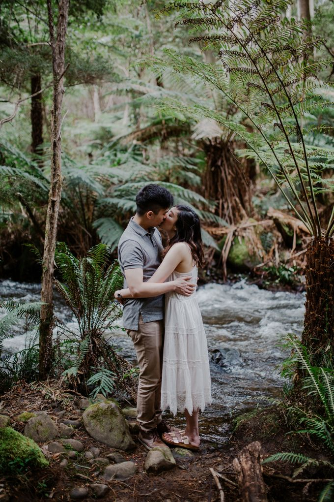 Marvelous Redwood Forest Wedding Anniversary in Warburton Melbourne Australia by fire, wood & earth - 015