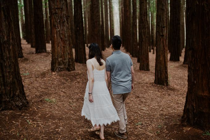 Marvelous Redwood Forest Wedding Anniversary in Warburton Melbourne Australia by fire, wood & earth - 036