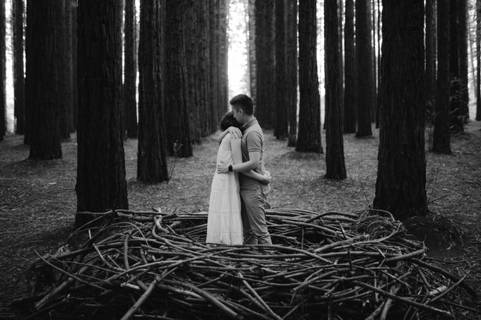Marvelous Redwood Forest Wedding Anniversary in Warburton Melbourne Australia by fire, wood & earth - 004