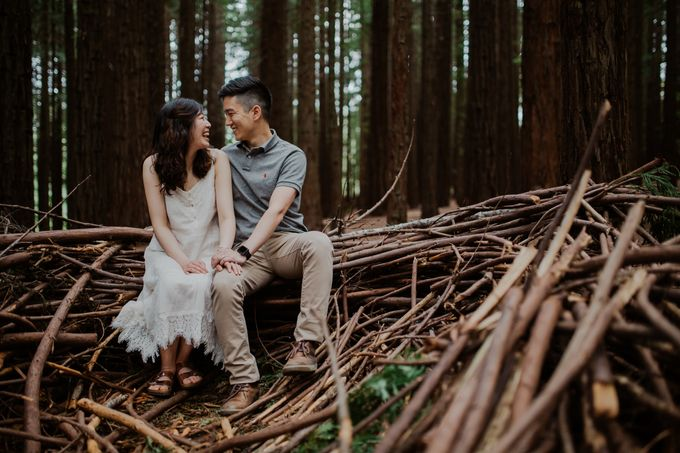 Marvelous Redwood Forest Wedding Anniversary in Warburton Melbourne Australia by fire, wood & earth - 006