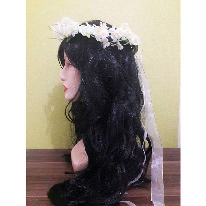 Flower Crown / Bando Bunga / Mahkota Bunga by Estrella Flower Crown - 006