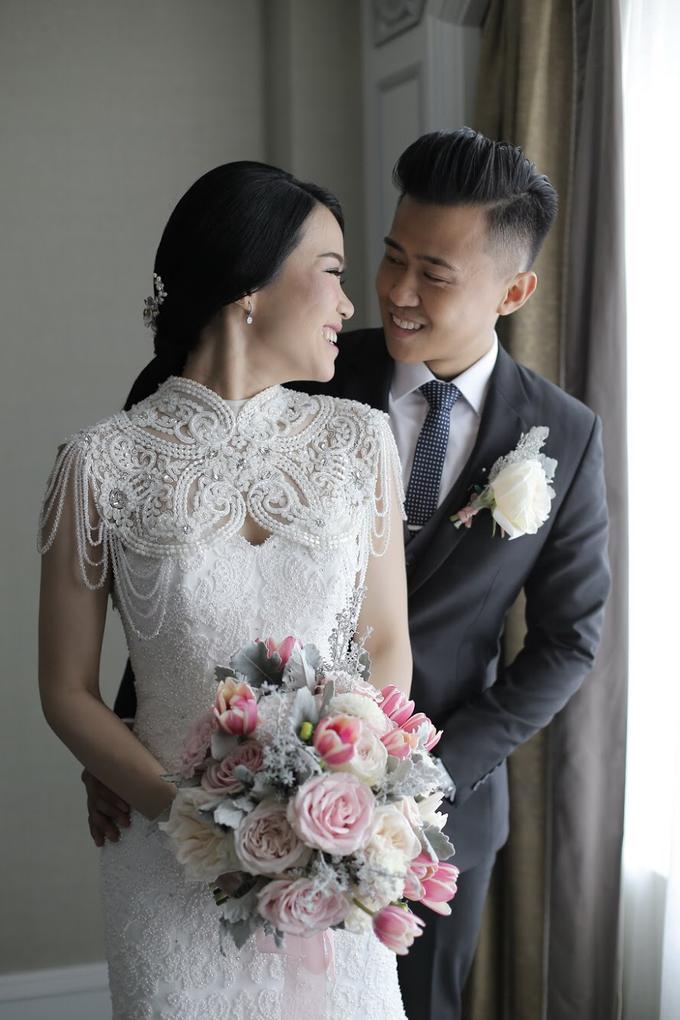 Wedding Of Hanny & Weida by Shangri-La Hotel - 012