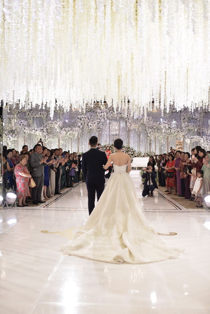 Wedding Of Hanny & Weida by Shangri-La Hotel - 013