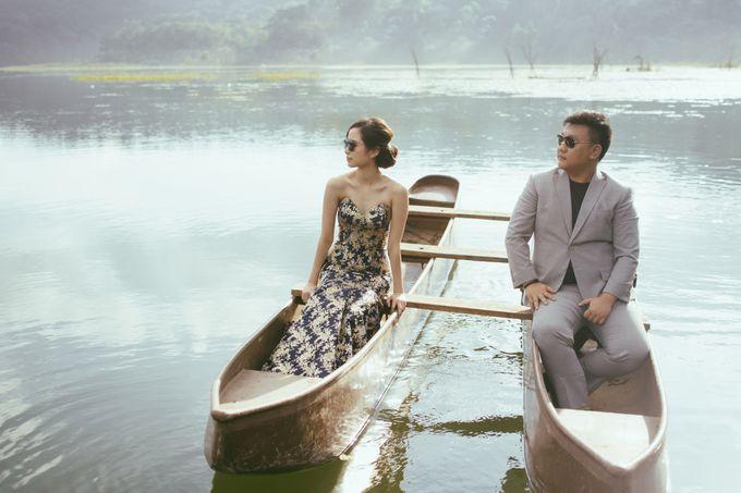 Classic and Dreamlike Prewedding of Mitha & Reiner in Bali by fire, wood & earth - 007