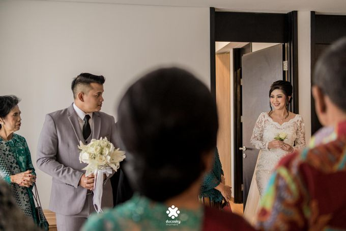 Rendy Evelyn Wedding | When Groom meets Bride by Ducosky - 011
