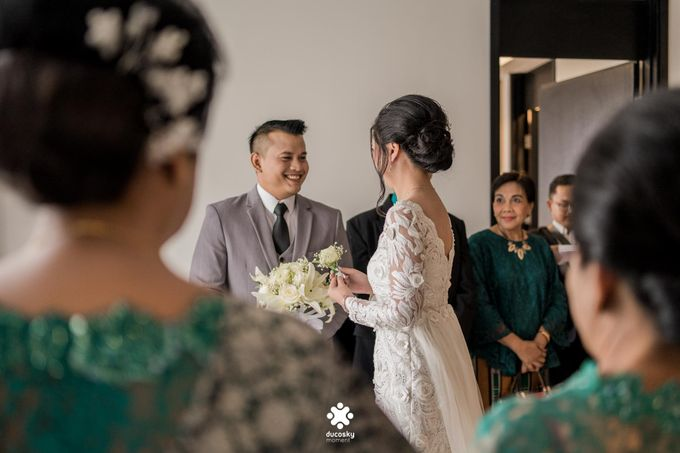 Rendy Evelyn Wedding | When Groom meets Bride by Ducosky - 012