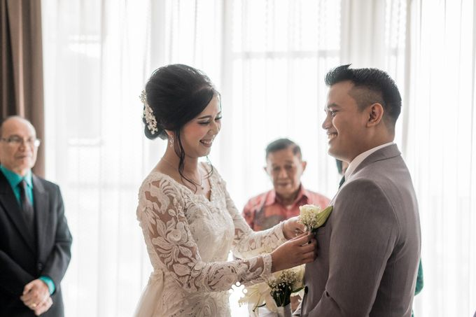 Rendy Evelyn Wedding | When Groom meets Bride by Ducosky - 013