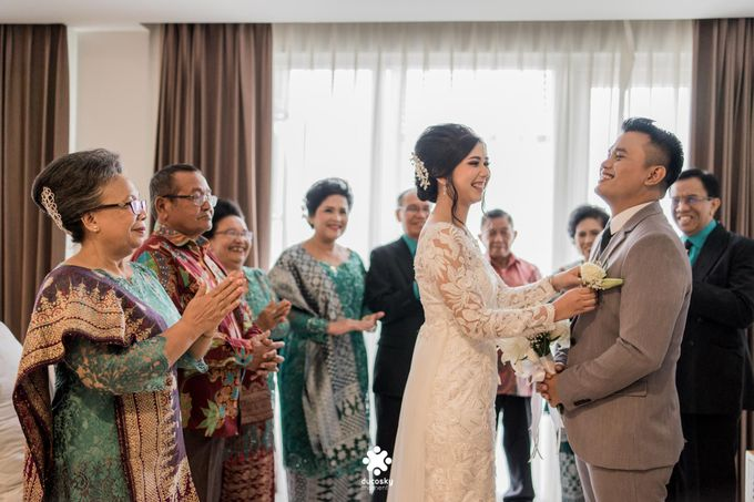 Rendy Evelyn Wedding | When Groom meets Bride by Ducosky - 014