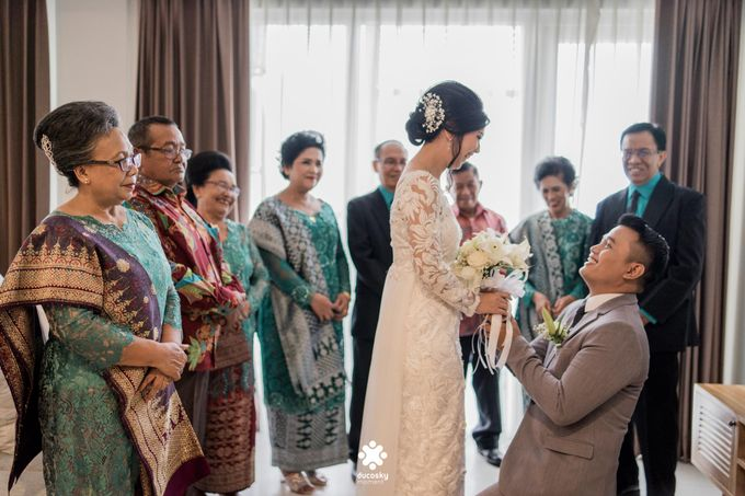 Rendy Evelyn Wedding | When Groom meets Bride by Ducosky - 016