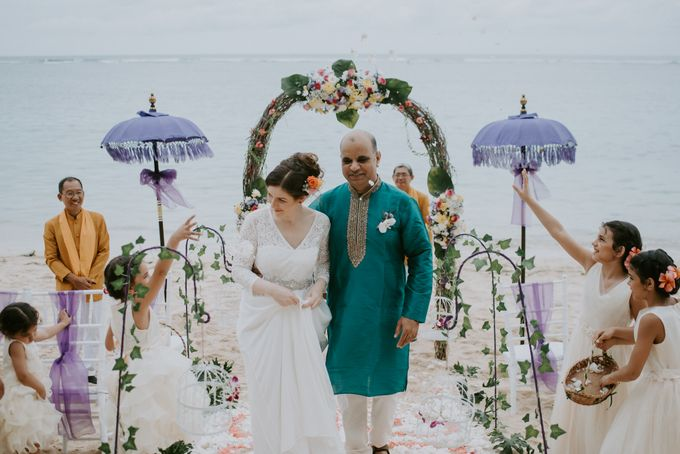 Renewal Vow of Sushil & Jessie by Samabe Bali Suites & Villas - 002